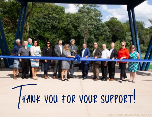 Thank you to our Donors, City of GL, MCACA, and the many individuals that made this project possible!